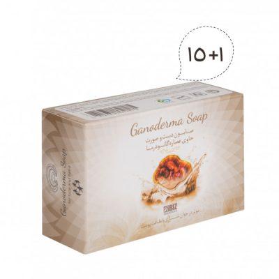 صابون قارچ گانودرما ۱+۱۵
